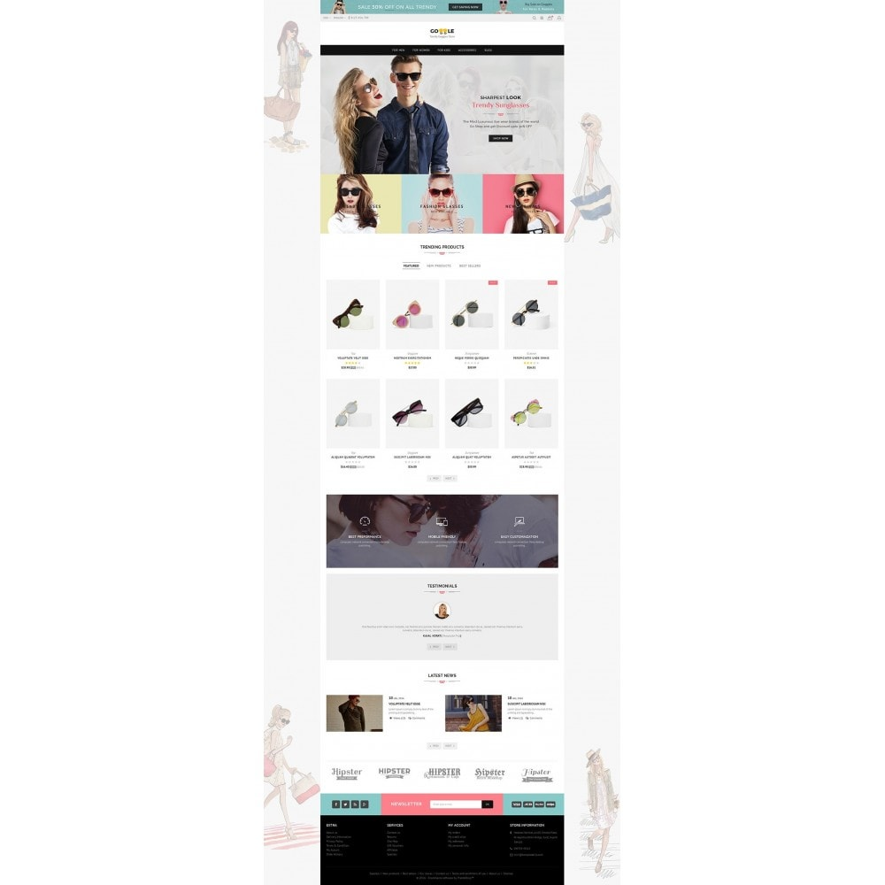 theme - Mode & Schuhe - Goggles Store - 3