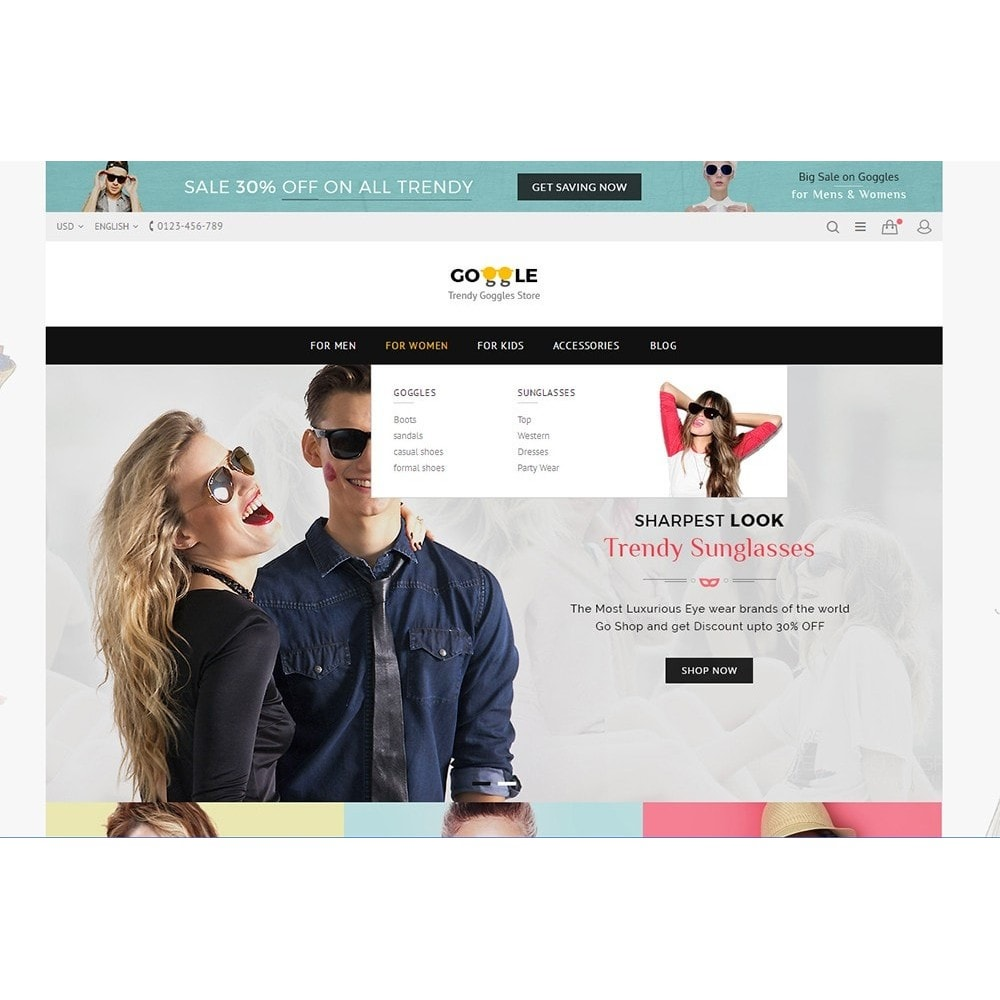 theme - Moda & Calzature - Goggles Store - 7