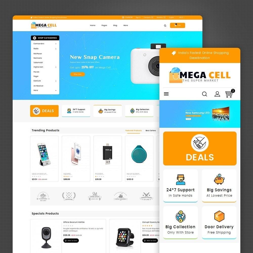 theme - Electrónica e High Tech - Mega Cell Electronics - 2