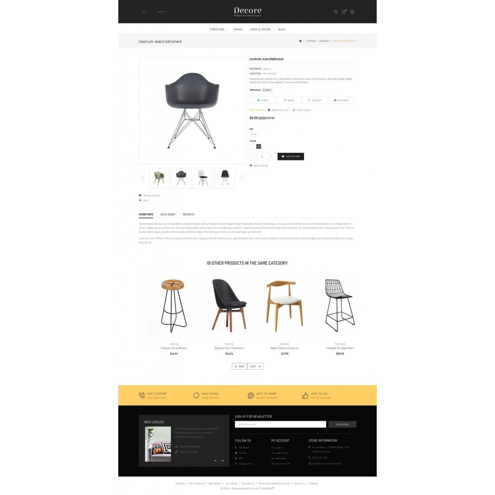 theme - Hogar y Jardín - Furniture Shop - 5