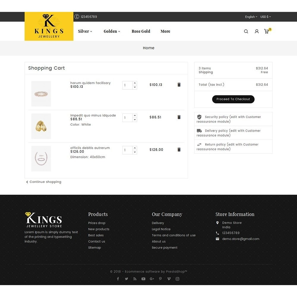 theme - Bijoux & Accessoires - Kings Jewelry - 7