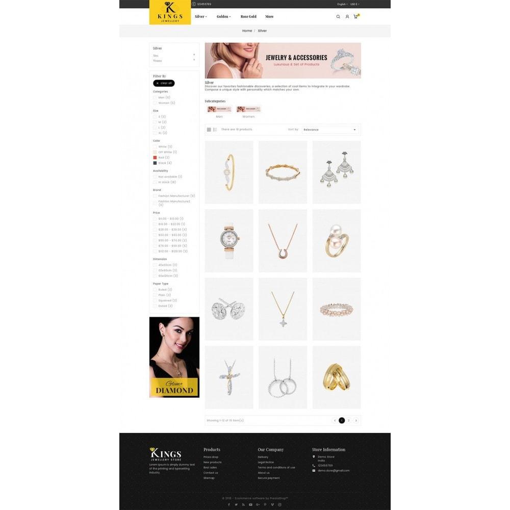 theme - Bellezza & Gioielli - Kings Jewelry - 4