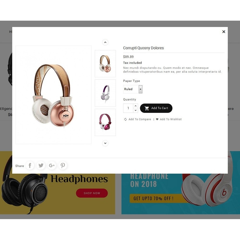theme - Electrónica e High Tech - Headphone & Speakers - 8
