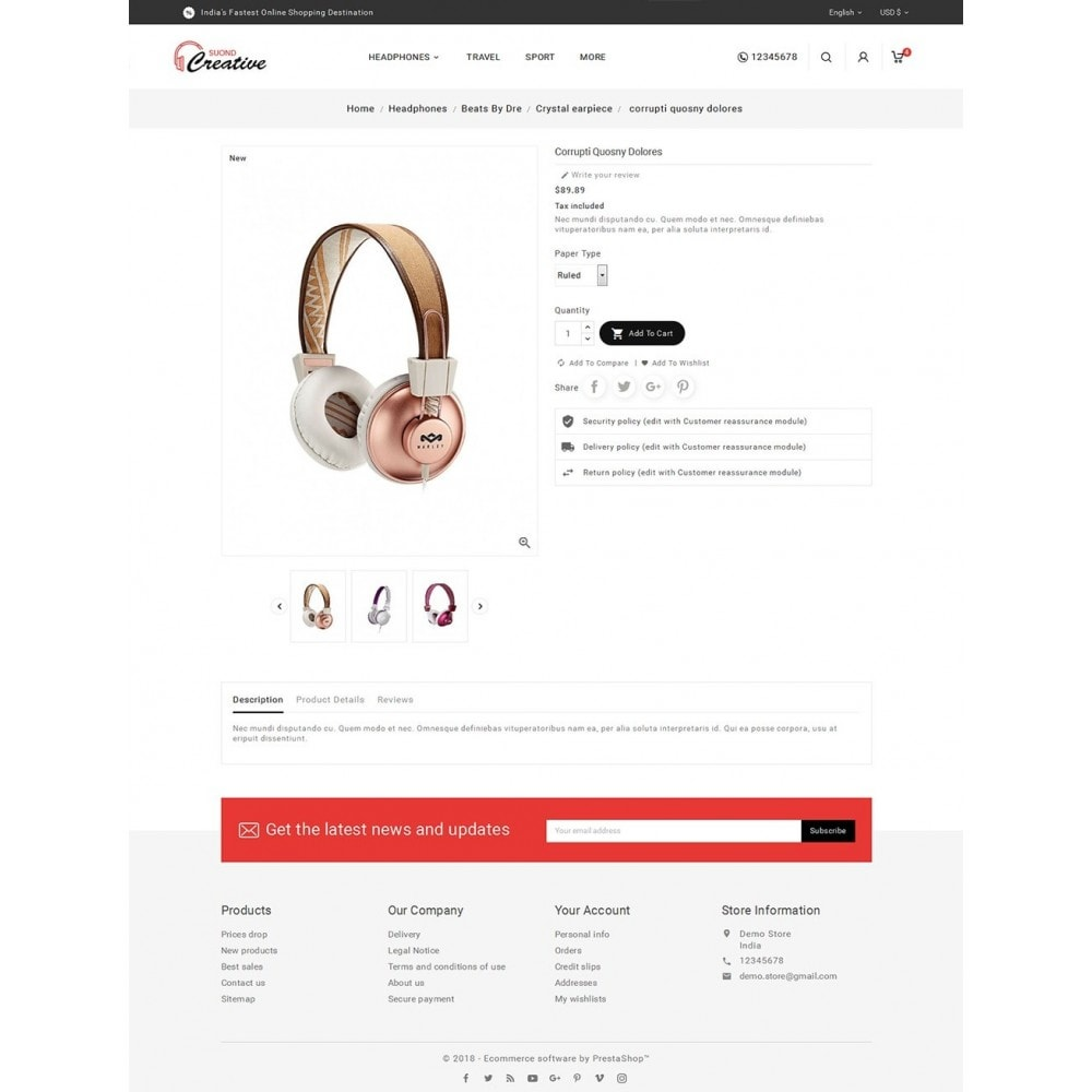theme - Elektronik & High Tech - Headphone & Speakers - 6