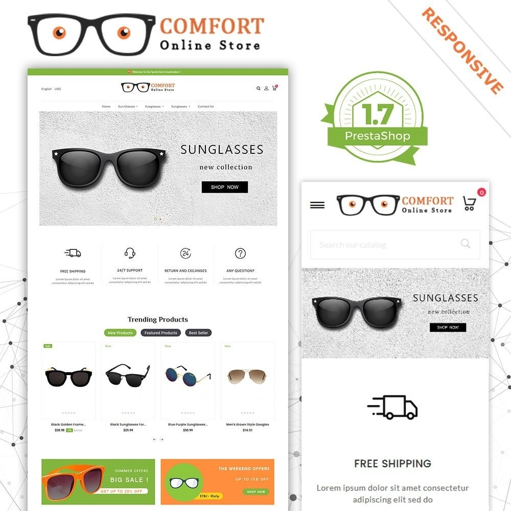 theme - Moda y Calzado - Tienda Comfort Sunglasses - 2