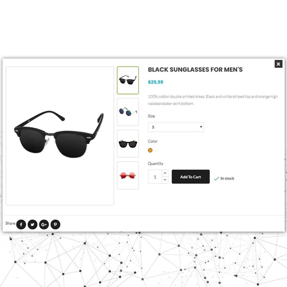 theme - Moda & Calçados - Loja de óculos de sol Comfort - 7