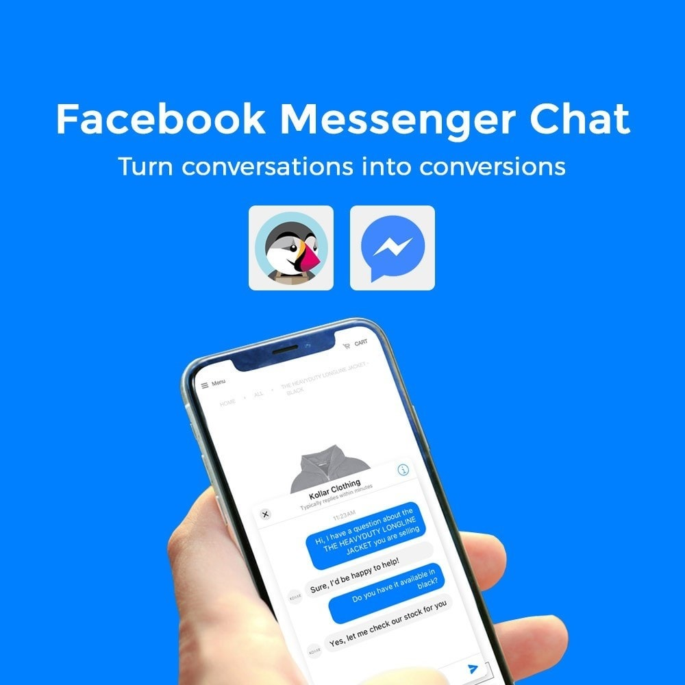 module - Support & Online-Chat - Messenger as a Live Chat - 1
