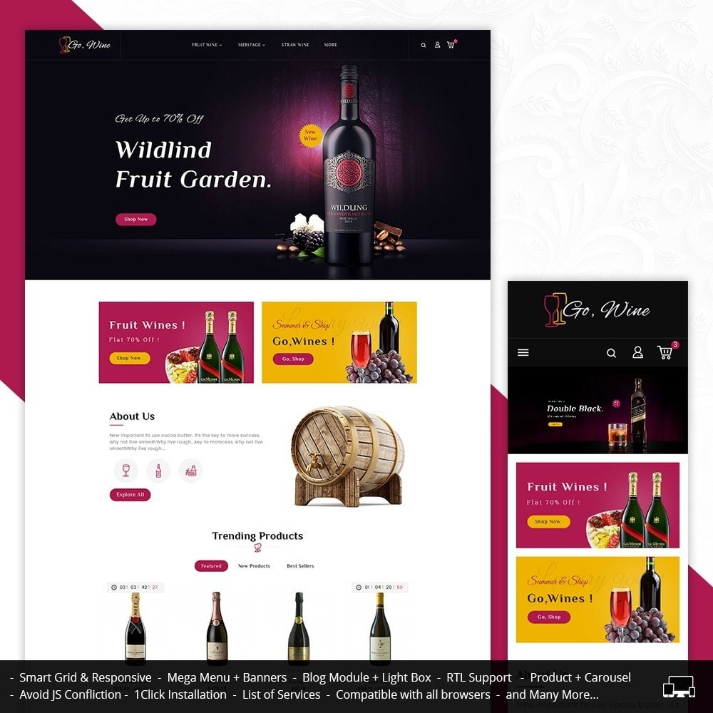 theme - Drink & Tobacco - Go Wine - 1