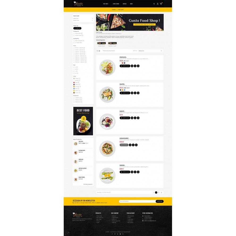 theme - Eten & Restaurant - Gusto Food - 4