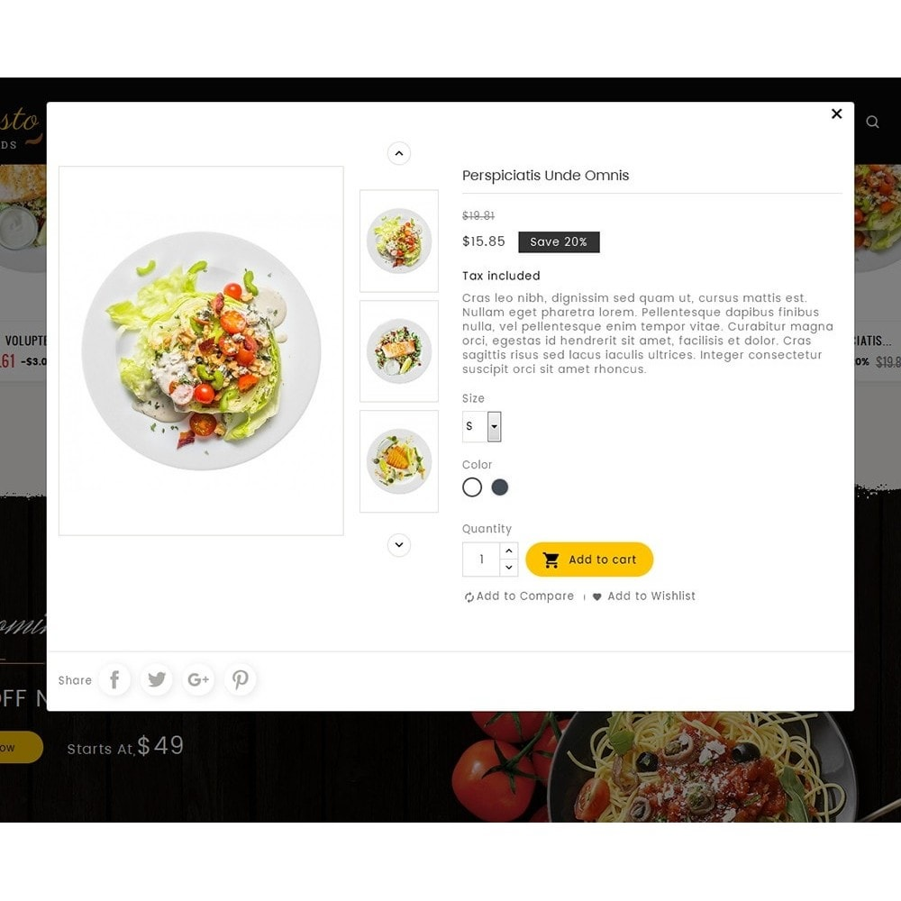 theme - Alimentation & Restauration - Gusto Food - 8
