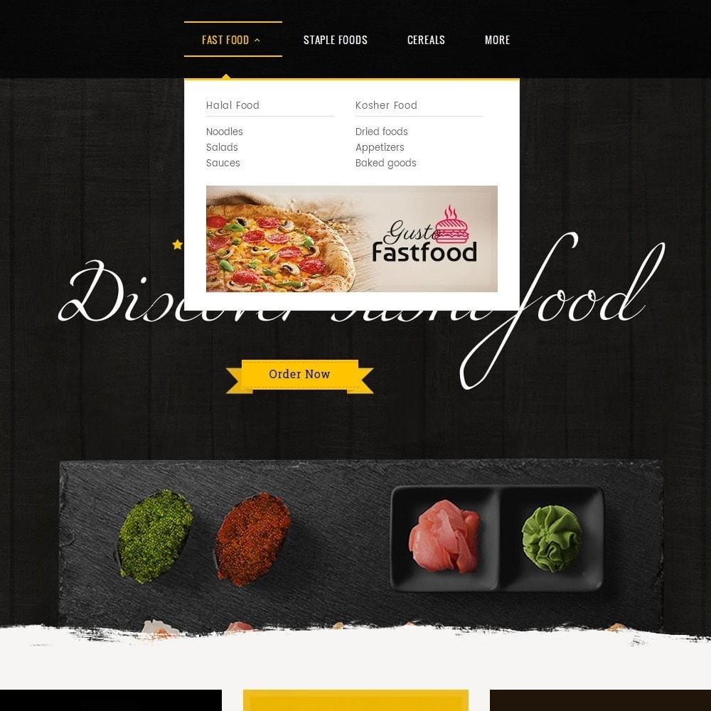 theme - Alimentation & Restauration - Gusto Food - 9