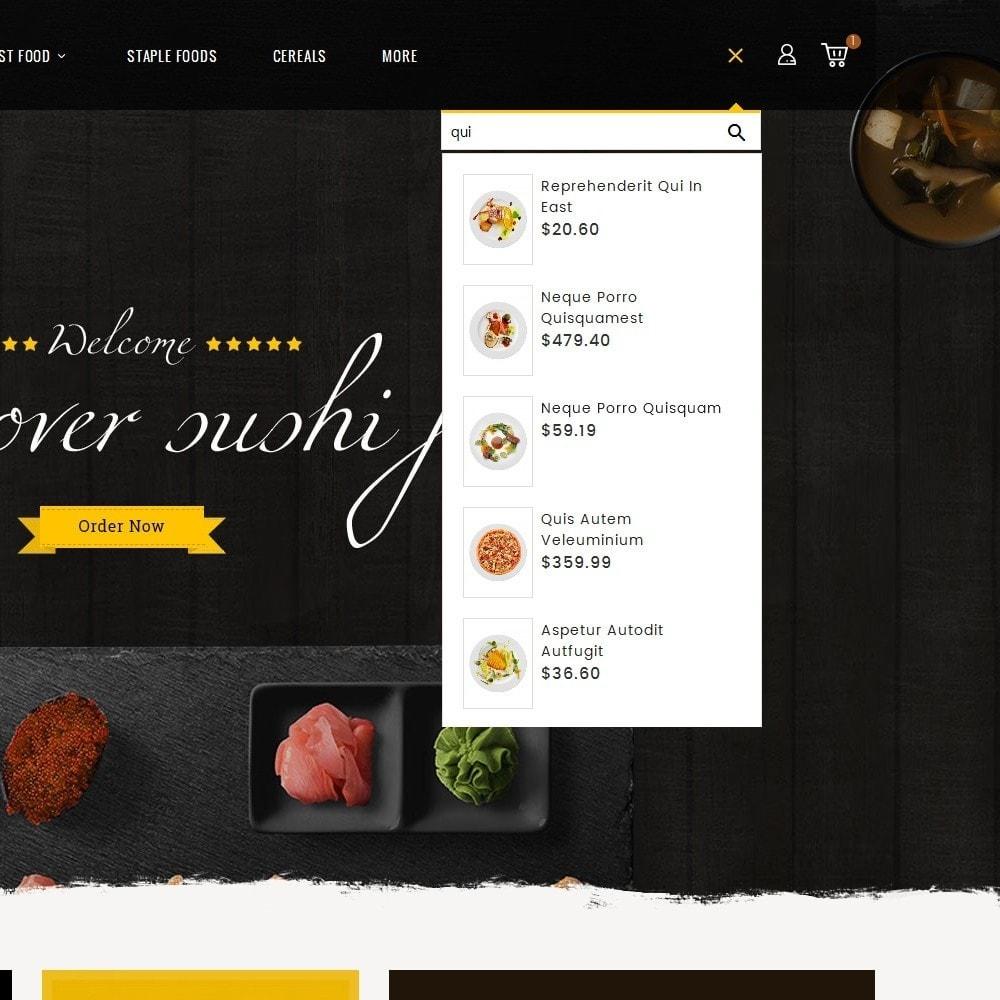 theme - Alimentation & Restauration - Gusto Food - 10