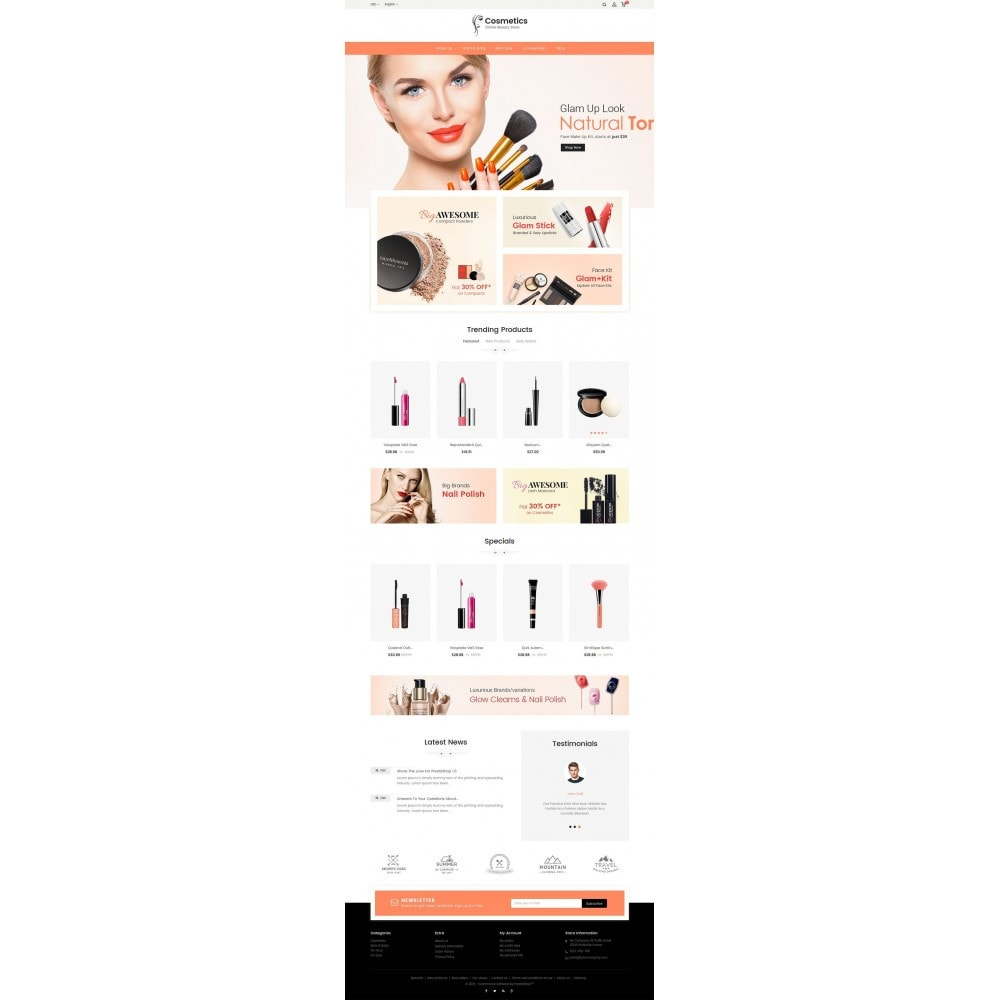 theme - Salud y Belleza - Cosmetic Store - 3