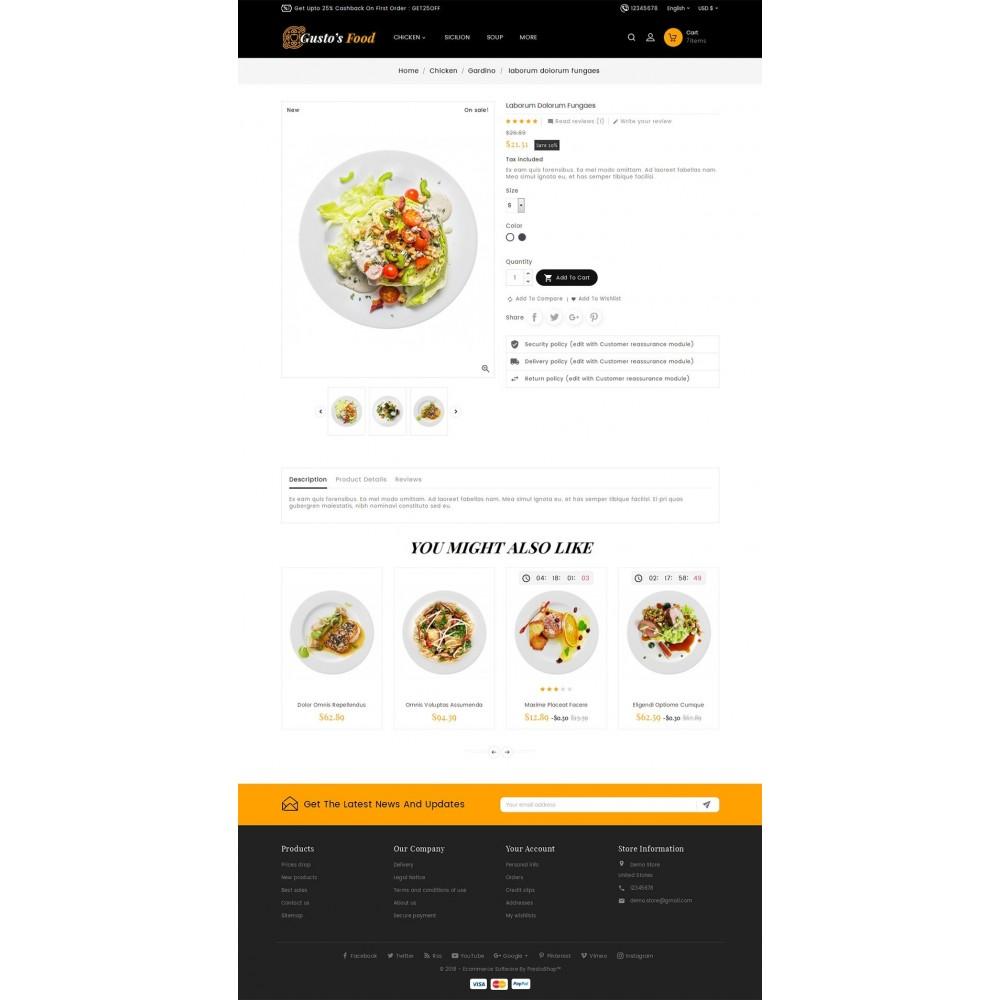 theme - Lebensmittel & Restaurants - Gusto Restaurant Food - 5