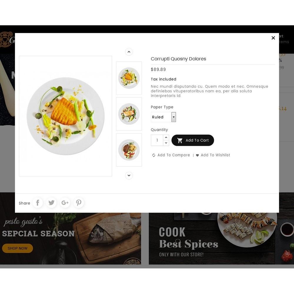 theme - Lebensmittel & Restaurants - Gusto Restaurant Food - 9