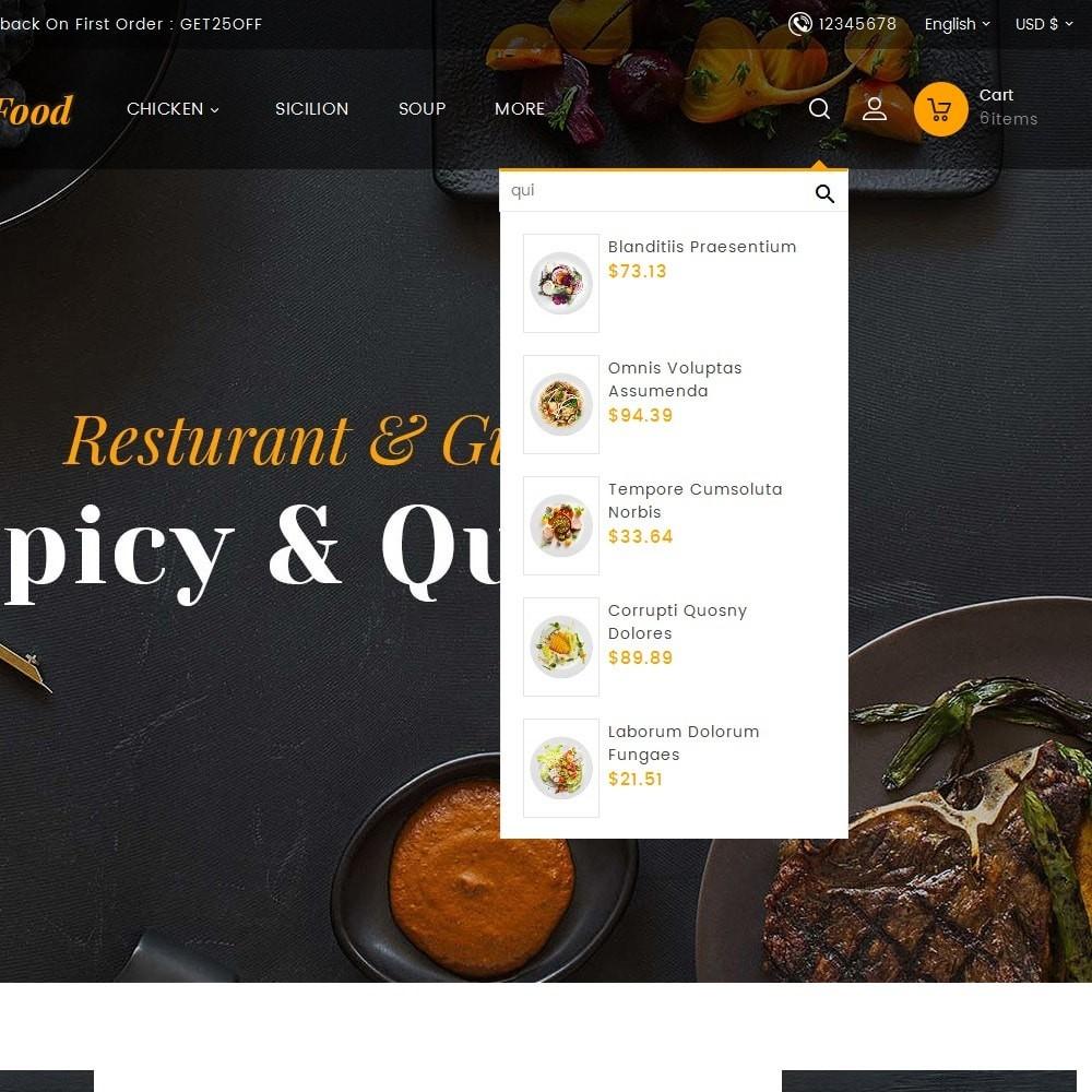theme - Lebensmittel & Restaurants - Gusto Restaurant Food - 12