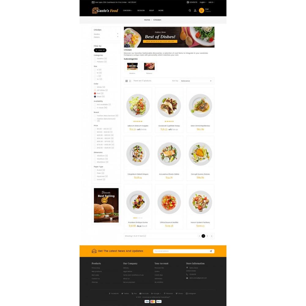 theme - Cibo & Ristorazione - Gusto Restaurant Food - 6
