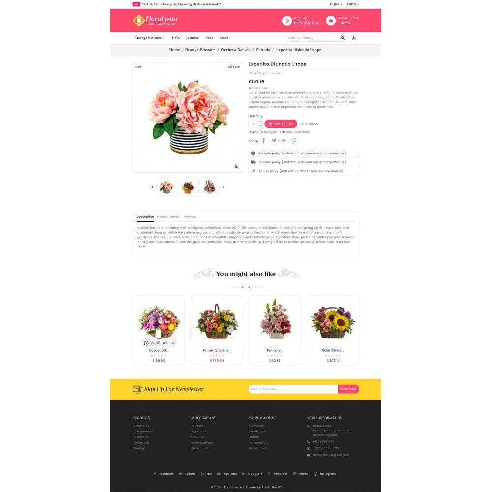theme - Maison & Jardin - Floral Pan Bloom Works - 6