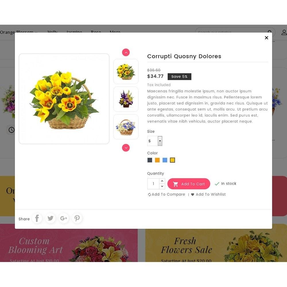 theme - Maison & Jardin - Floral Pan Bloom Works - 8