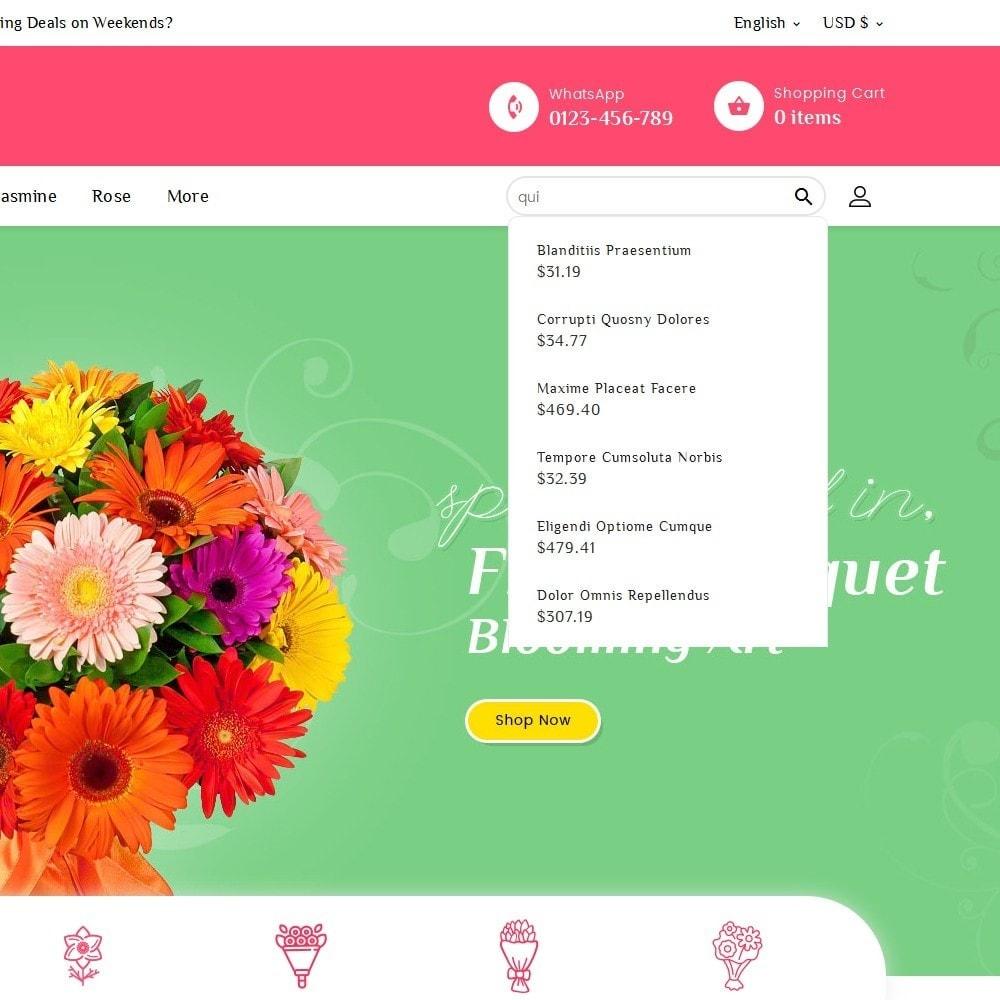 theme - Casa & Giardino - Floral Pan Bloom Works - 10