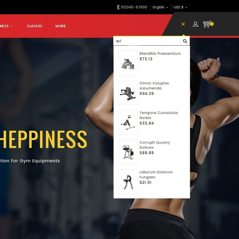 theme - Deportes, Actividades y Viajes - Fitness Equipment - 10