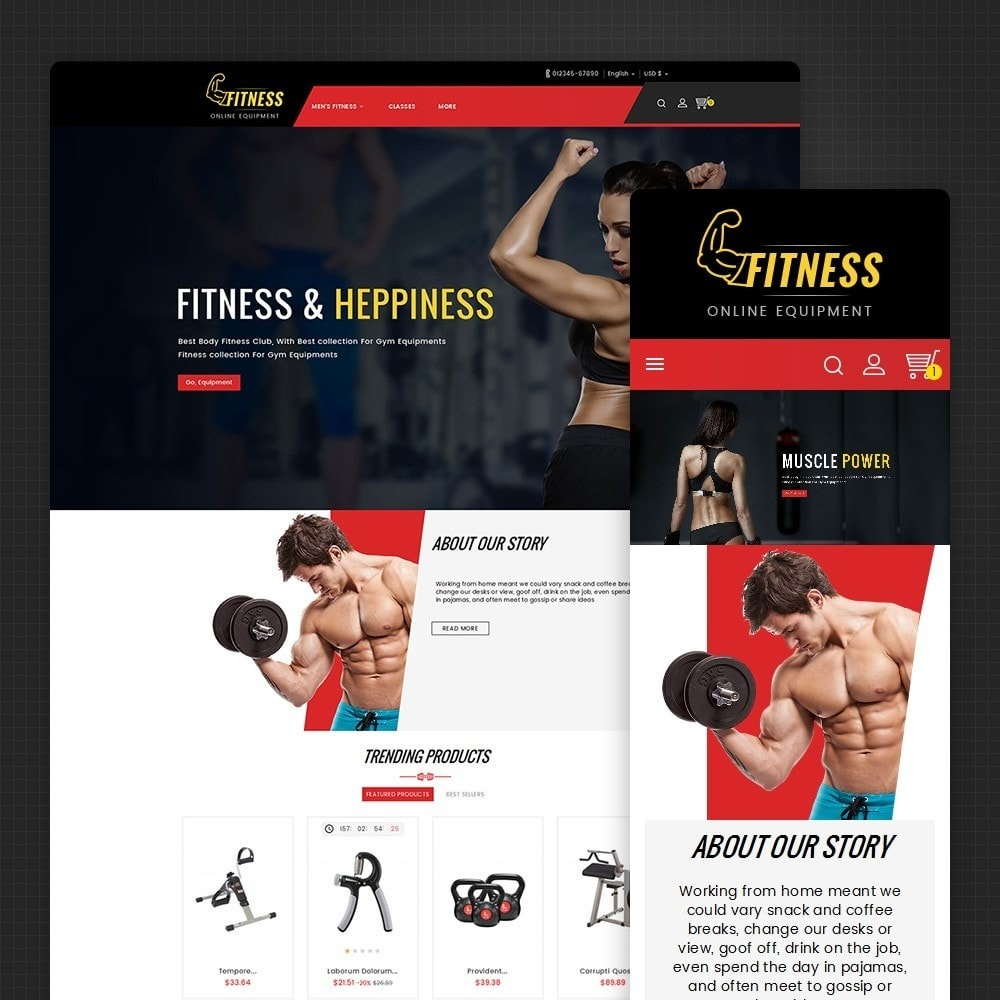theme - Sport, Aktivitäten & Reise - Fitness Equipment - 2