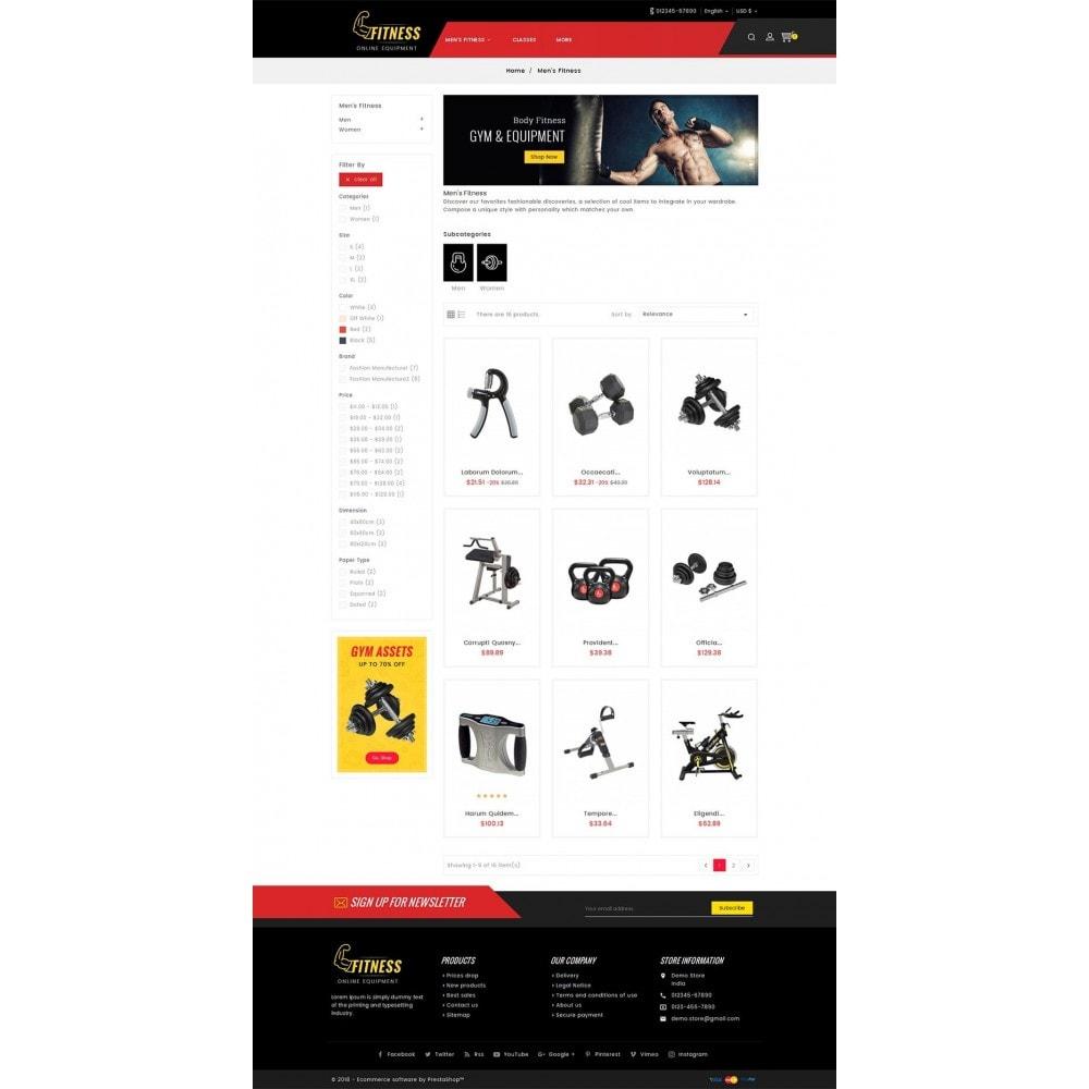 theme - Sport, Attività & Viaggi - Fitness Equipment - 4