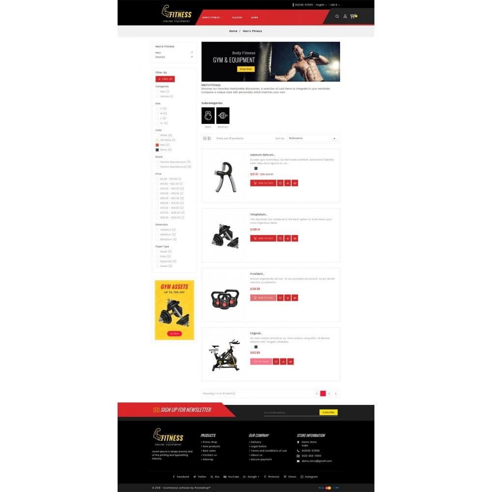 theme - Sport, Attività & Viaggi - Fitness Equipment - 5