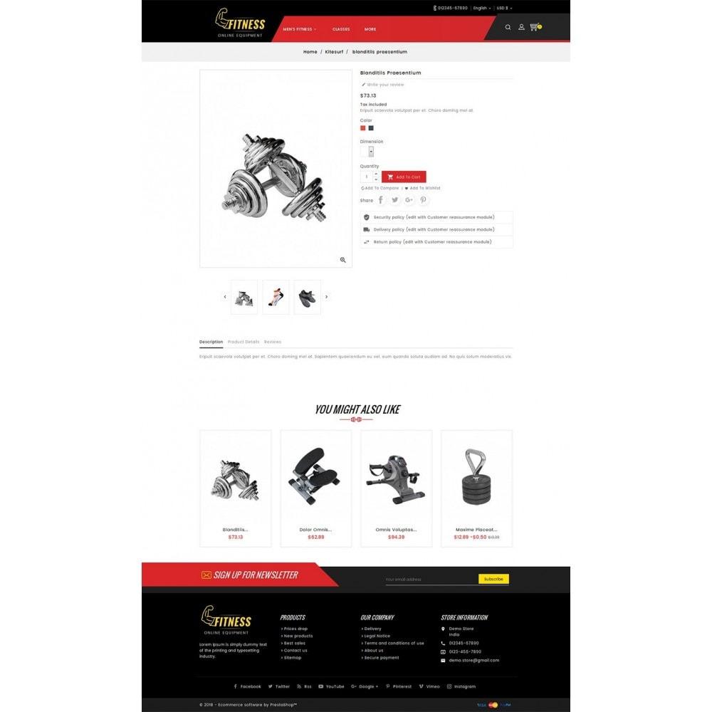 theme - Sport, Attività & Viaggi - Fitness Equipment - 6