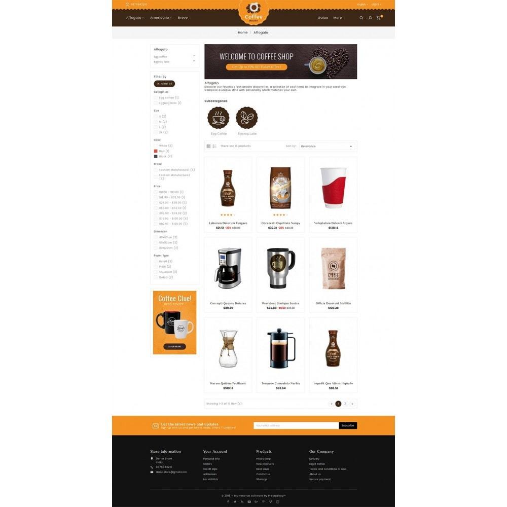 theme - Lebensmittel & Restaurants - Coffee House - 4