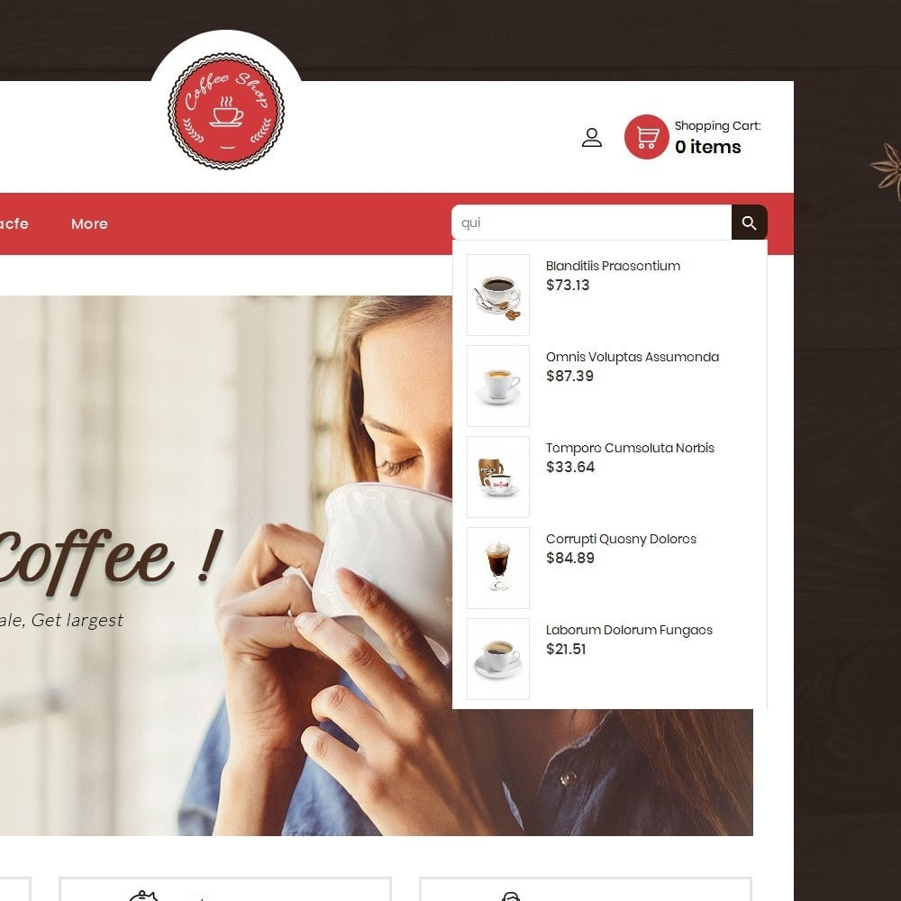 theme - Alimentation & Restauration - Coffee Cafe Shop - 10
