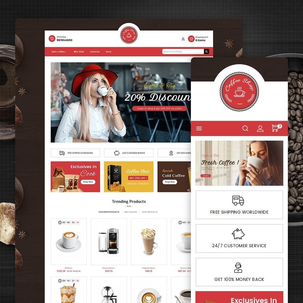 theme - Lebensmittel & Restaurants - Coffee Cafe Shop - 2