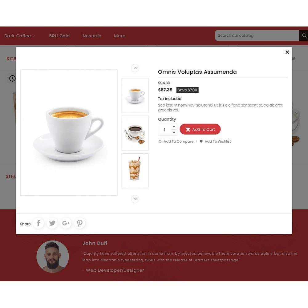 theme - Lebensmittel & Restaurants - Coffee Cafe Shop - 8