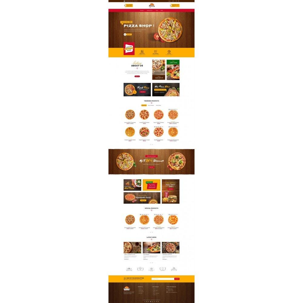 theme - Gastronomía y Restauración - Cheesy Pizza - Fast Food - 3