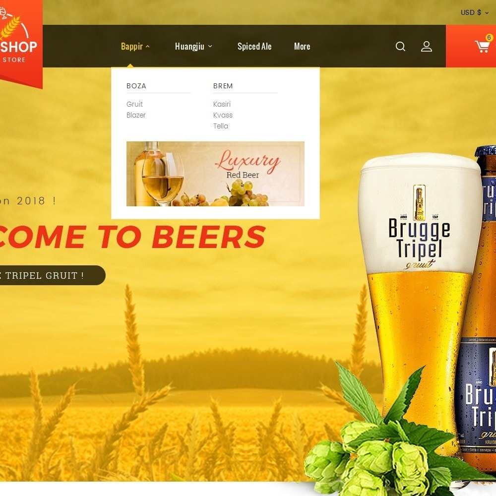 theme - Boissons & Tabac - Beer & Winery - 9