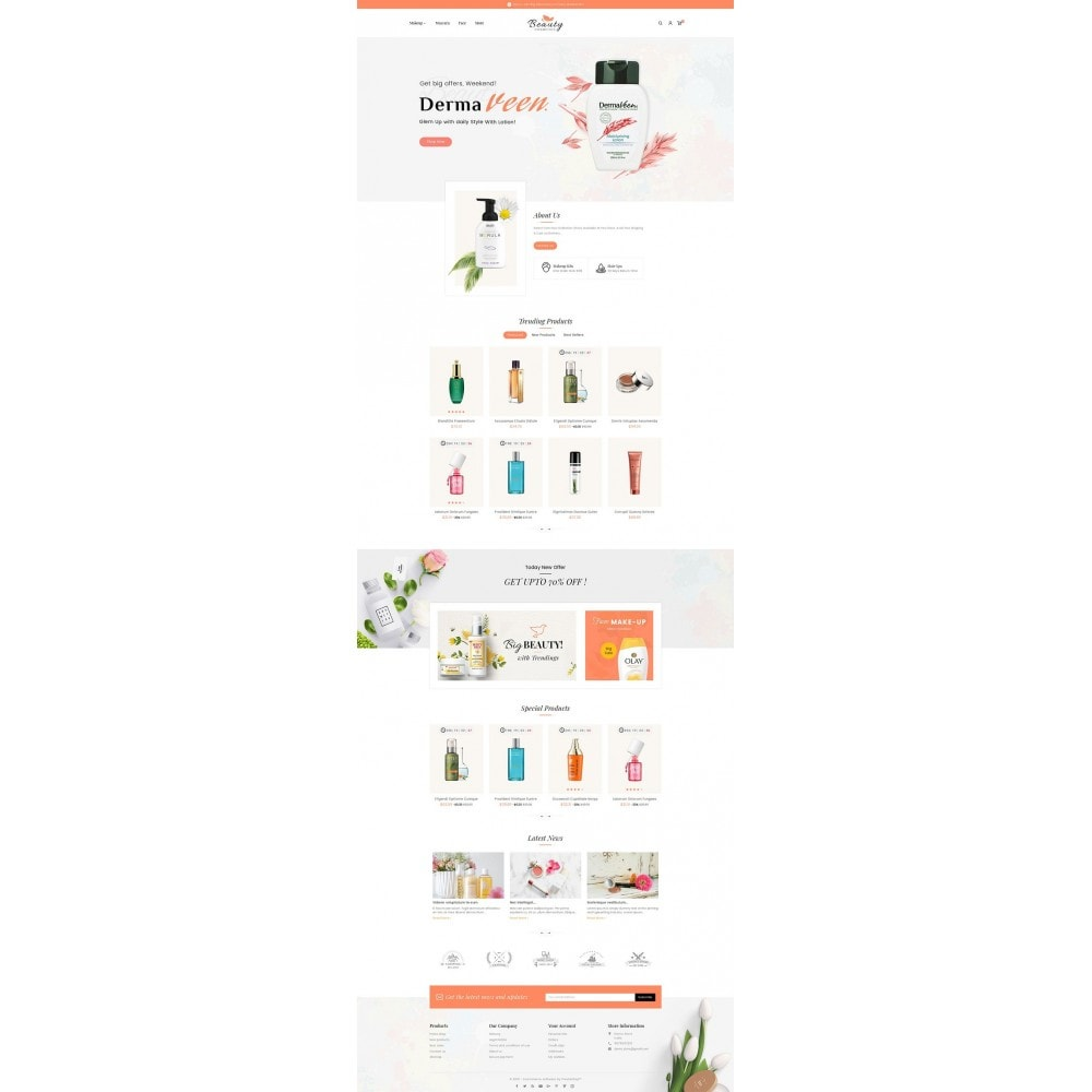 theme - Santé & Beauté - Beauty Spa & Cosmetics - 3
