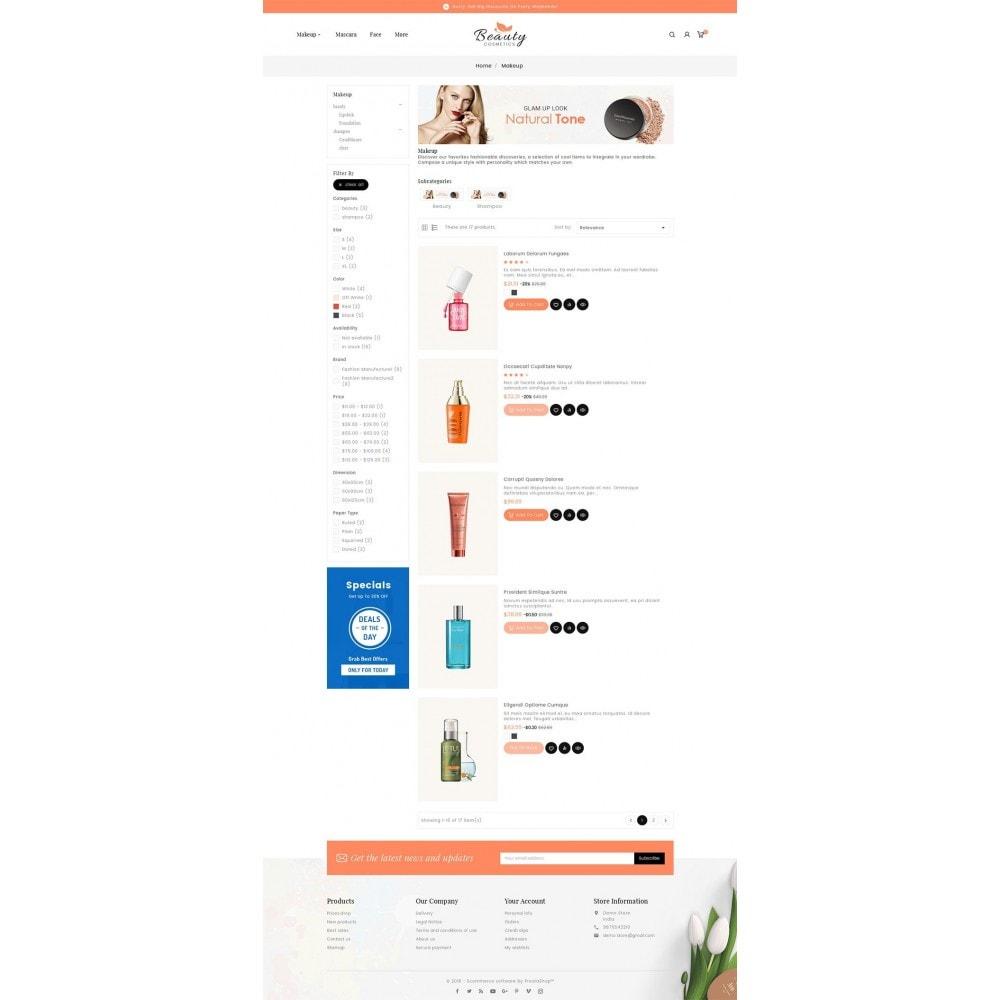 theme - Salud y Belleza - Beauty Spa & Cosmetics - 5
