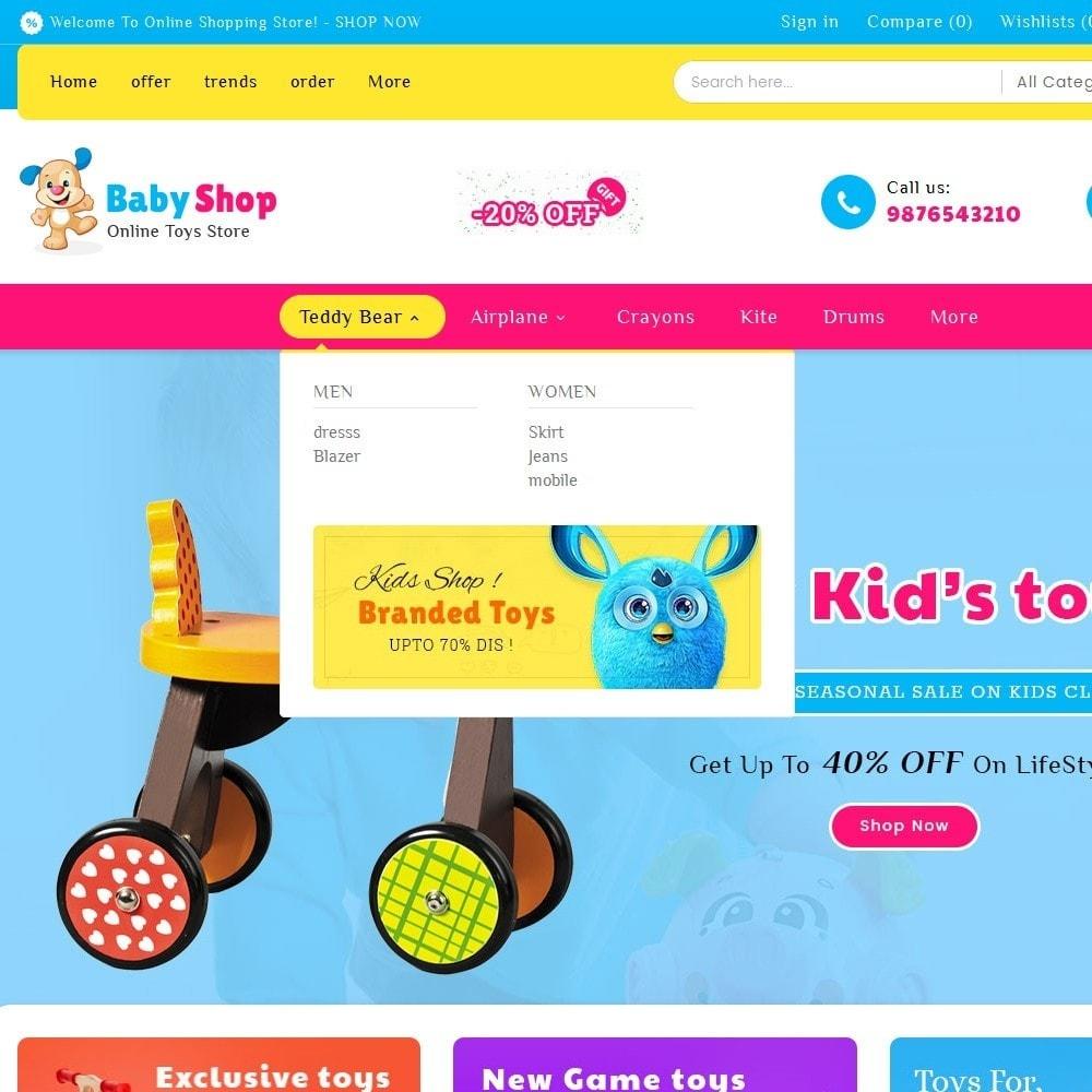 theme - Niños y Juguetes - Baby Toys - 9