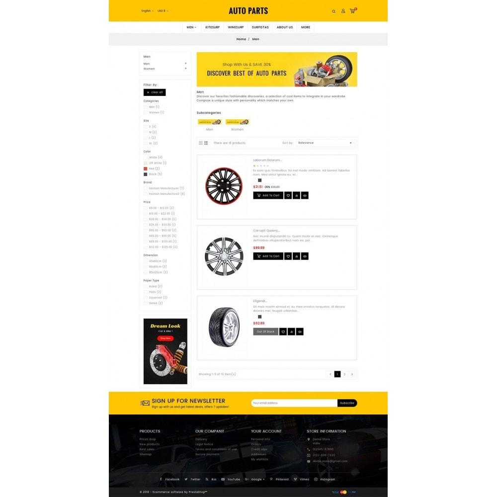 theme - Autos & Motorräder - Auto Equipment & Parts - 5