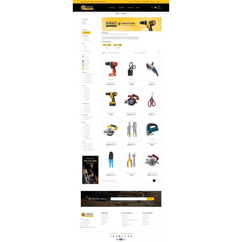 theme - Maison & Jardin - Tools Store - 4