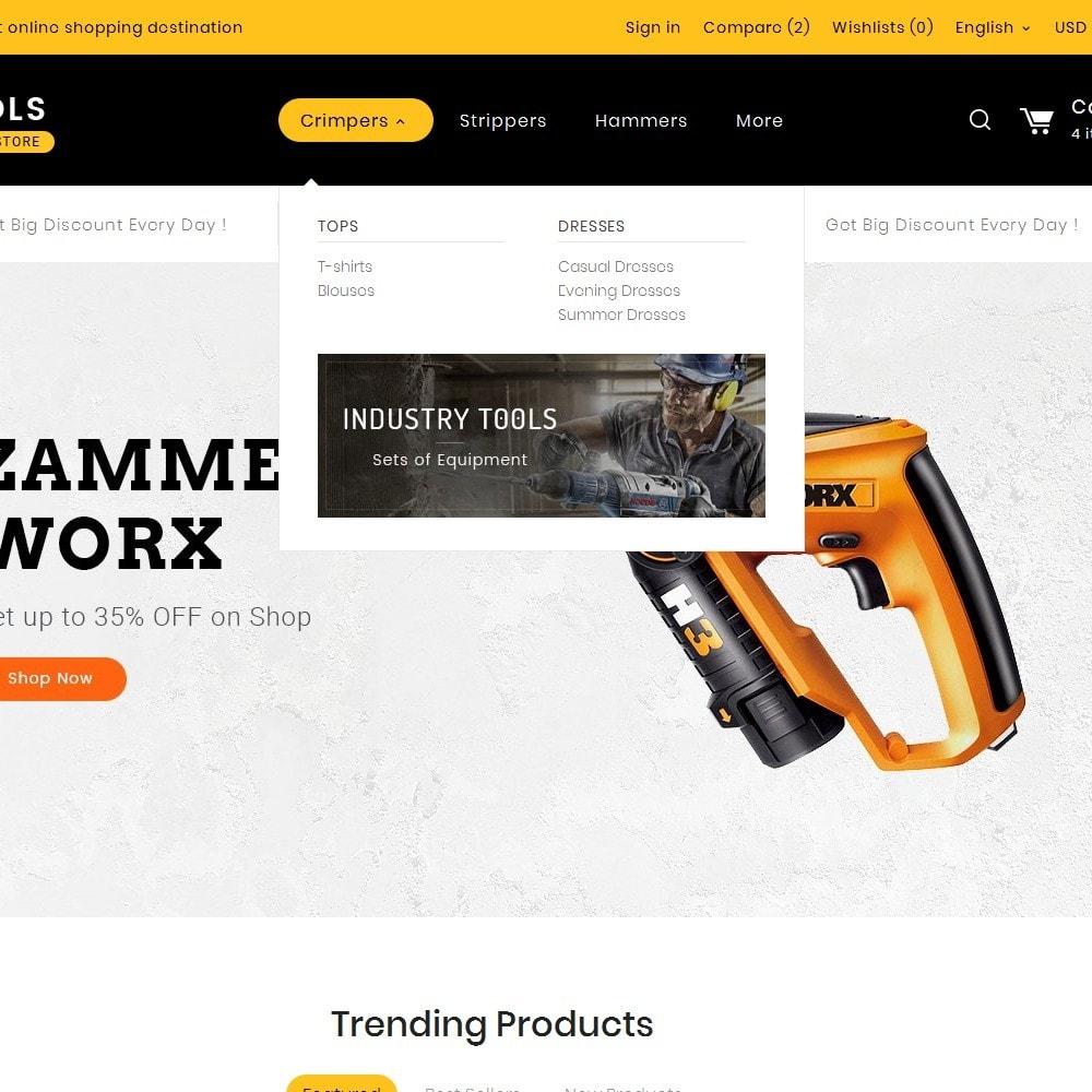 theme - Hogar y Jardín - Tools Store - 9
