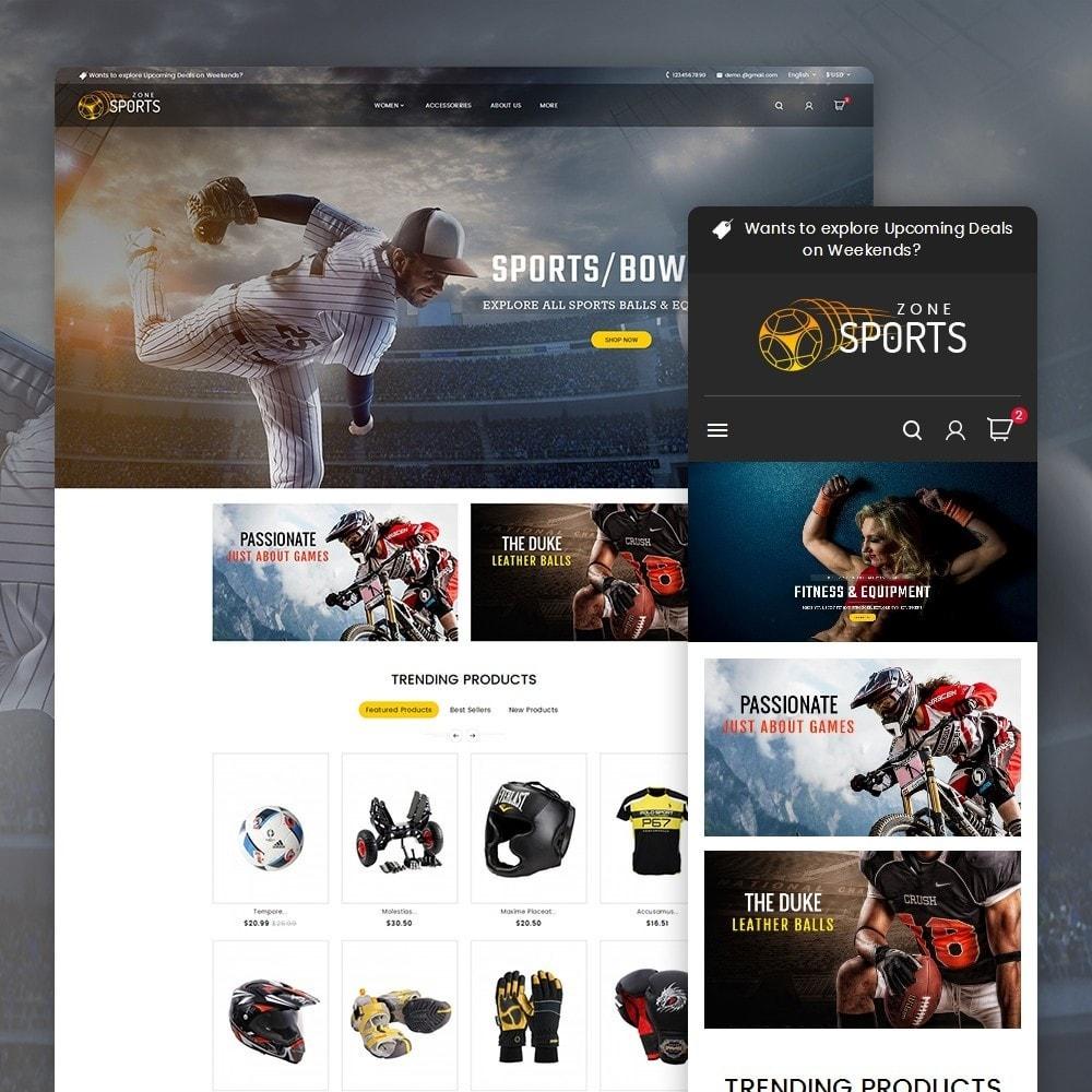 theme - Deportes, Actividades y Viajes - Sports Zone - 2