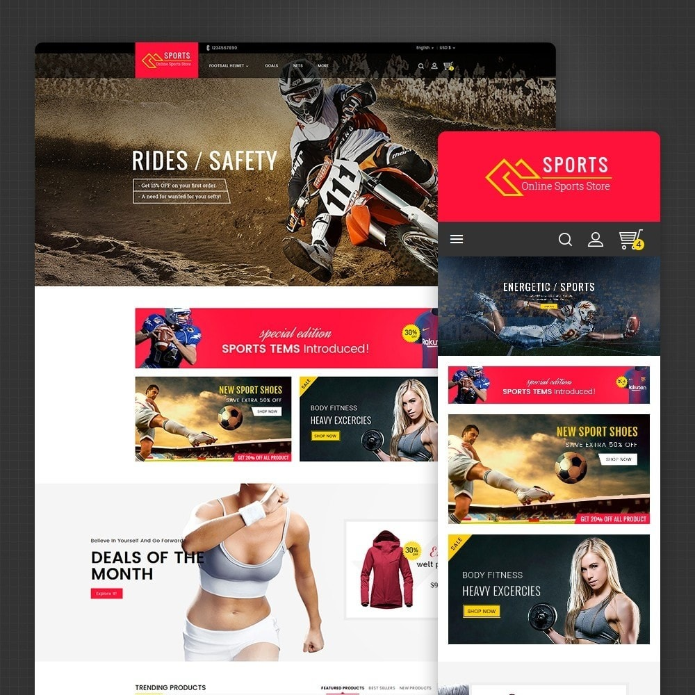 theme - Sport, Attività & Viaggi - Sports Store - 2