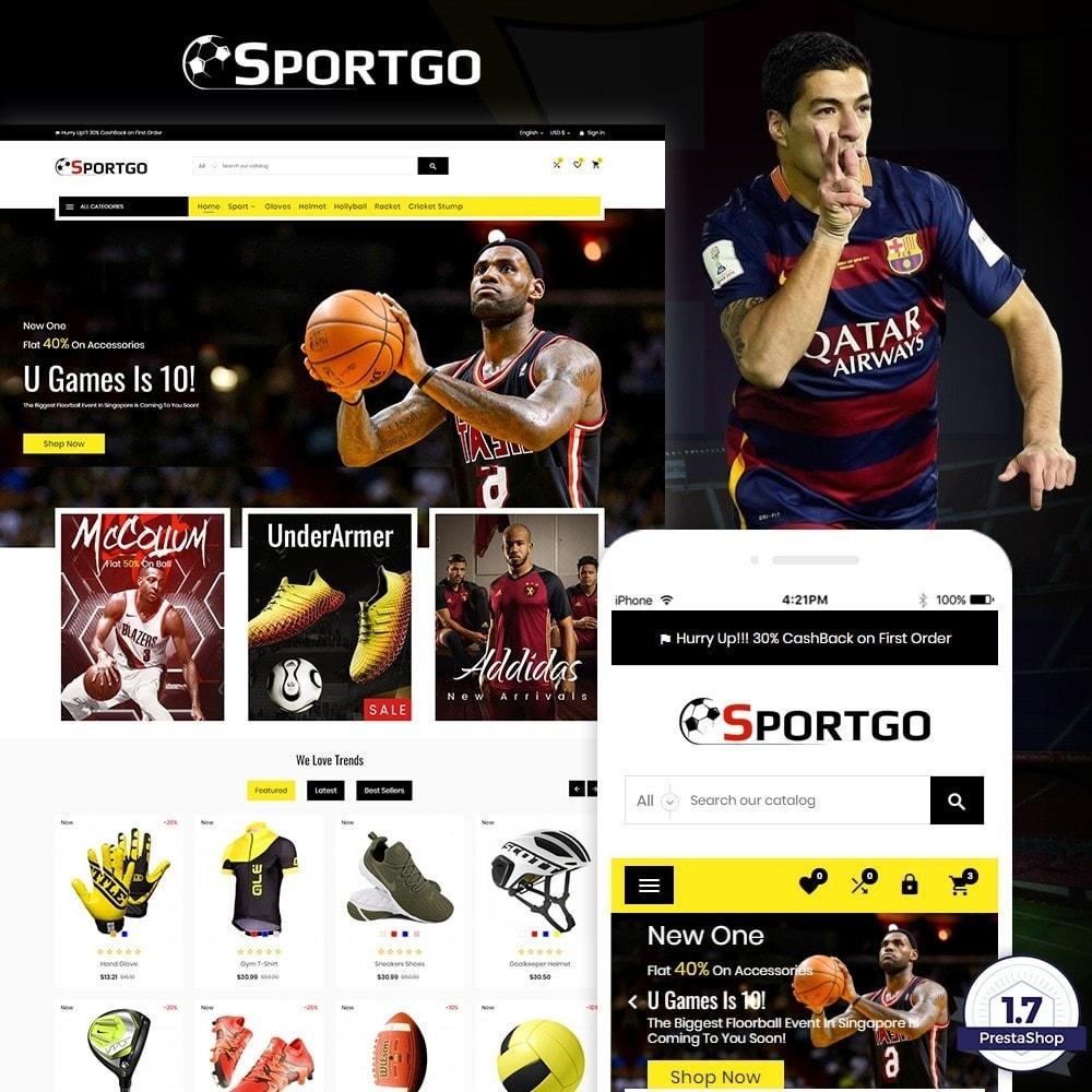 theme - Sport, Attività & Viaggi - SportGO – Sport Accessories Store - 1