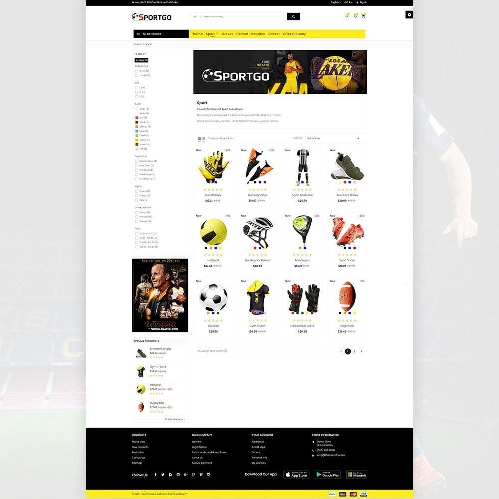 theme - Sport, Attività & Viaggi - SportGO – Sport Accessories Store - 3