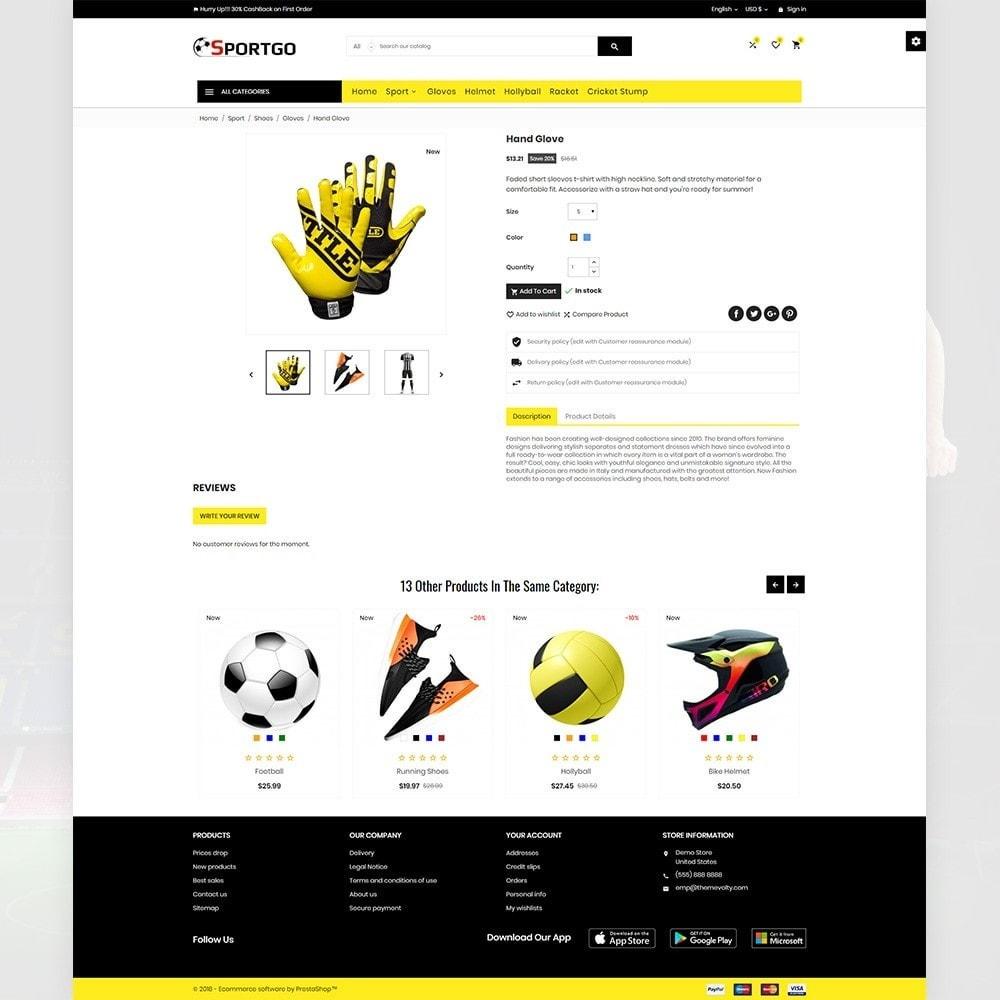 theme - Sport, Loisirs & Voyage - SportGO – Sport Accessories Store - 4