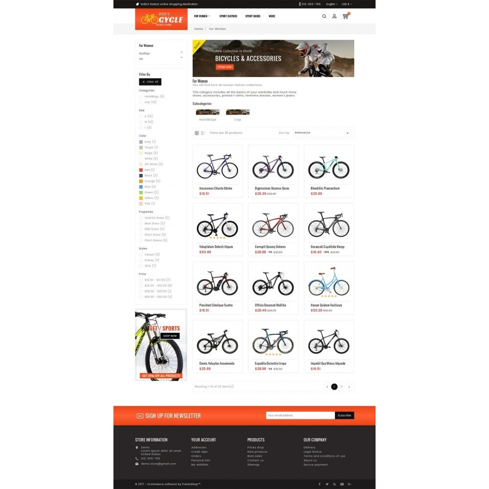 theme - Sport, Loisirs & Voyage - Sports Bicycle - 4