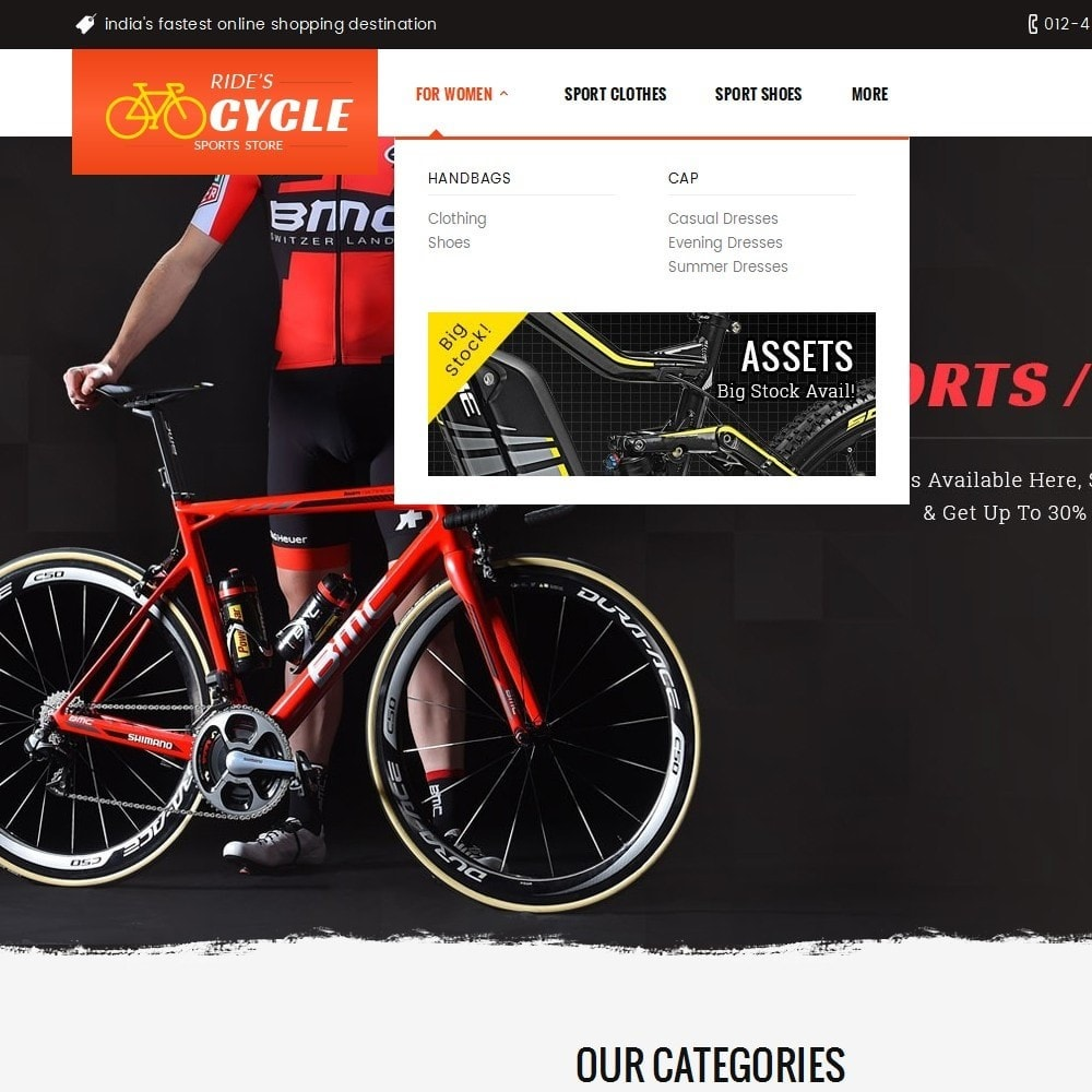 theme - Sport, Loisirs & Voyage - Sports Bicycle - 9