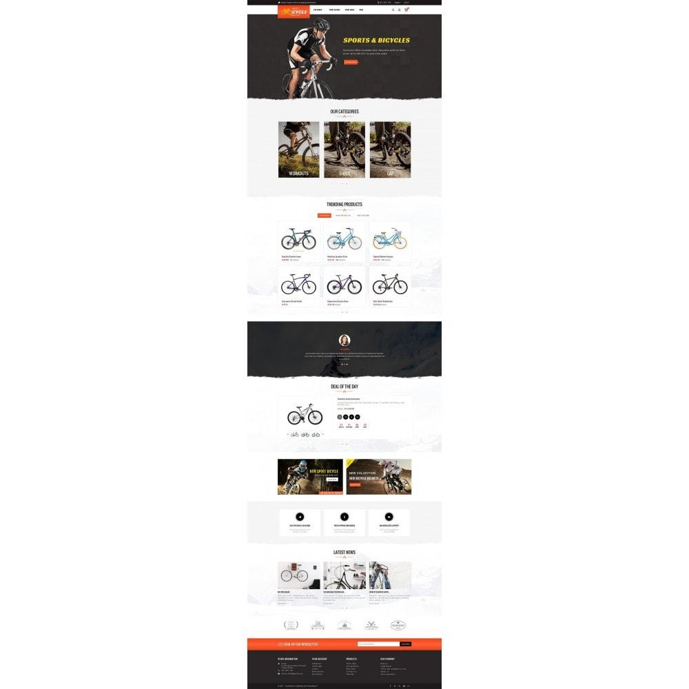 theme - Deportes, Actividades y Viajes - Sports Bicycle - 3