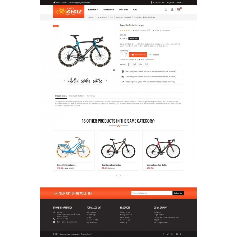 theme - Deportes, Actividades y Viajes - Sports Bicycle - 6